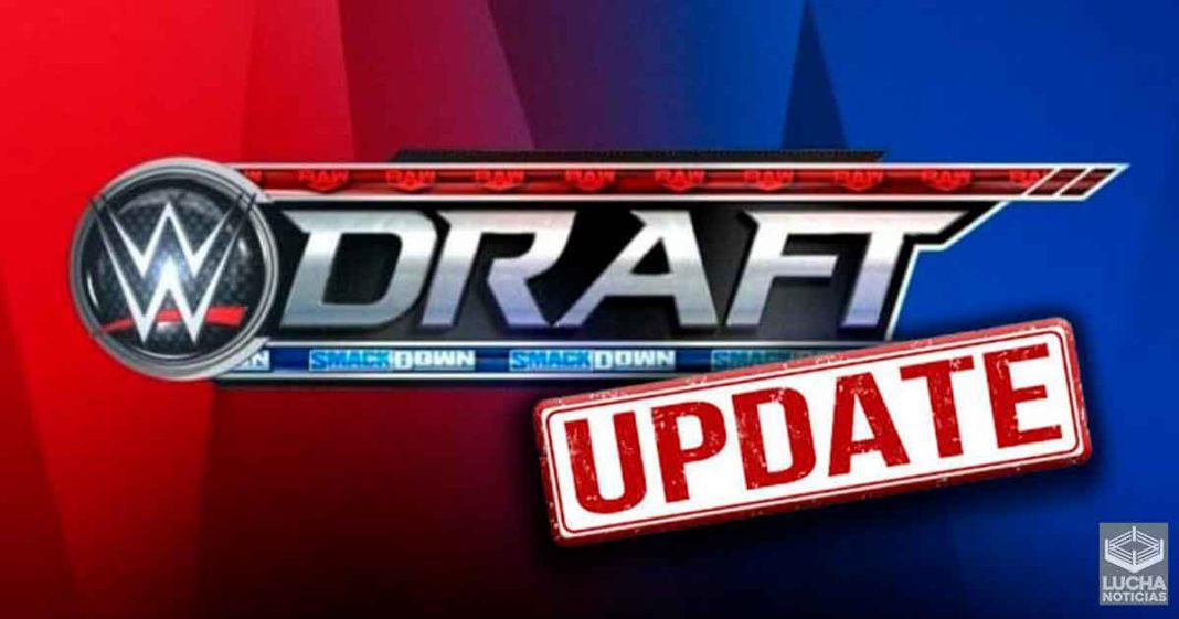 Gran Spoiler para el WWE Draft - Toda la información