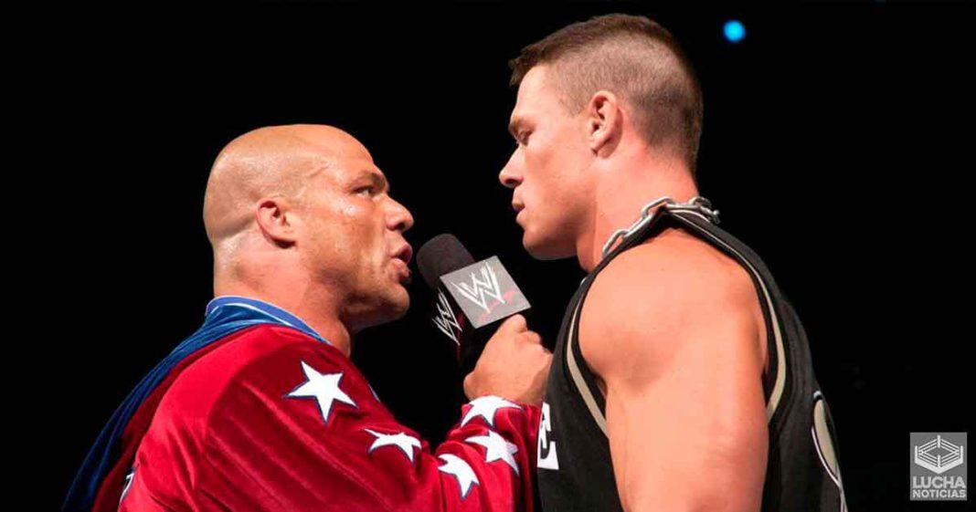 Kurt Angle llama a John Cena la mejor superestrella de WWE de todos los tiempos