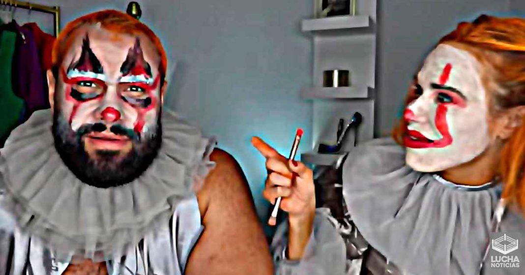 Lana y Miro se ponen disfraces de Halloween