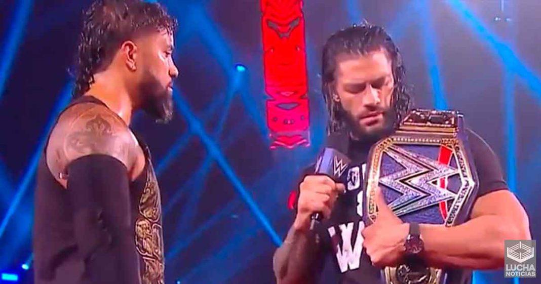 Los planes de Roman Reigns no los está viendo los creativos de WWE