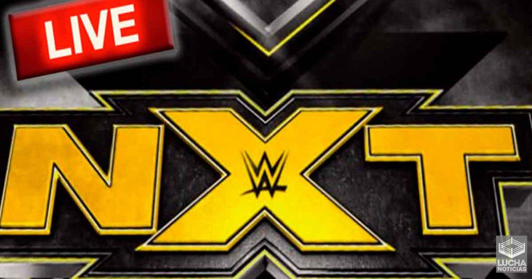 Los pramas de WWE NXT volvarán a ser en vivo la próxima semana