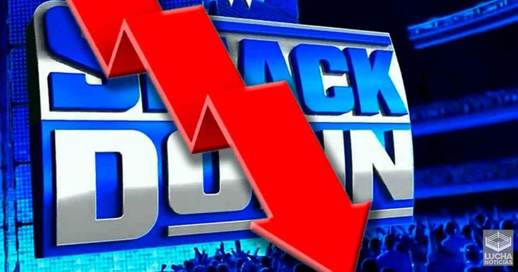Los ratings de WWE SmackDown caen luego de Clash Of Champions