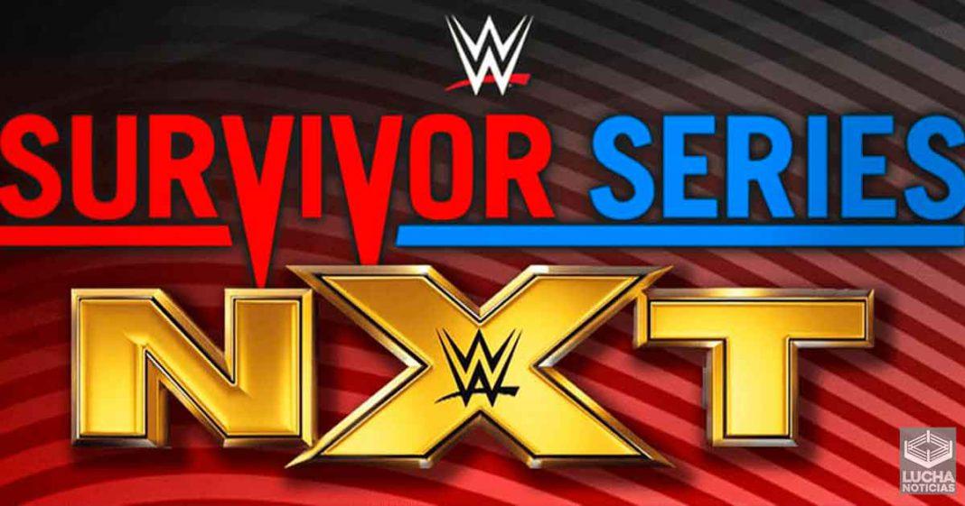 Planes de WWE para NXT en Survivor Series 2020