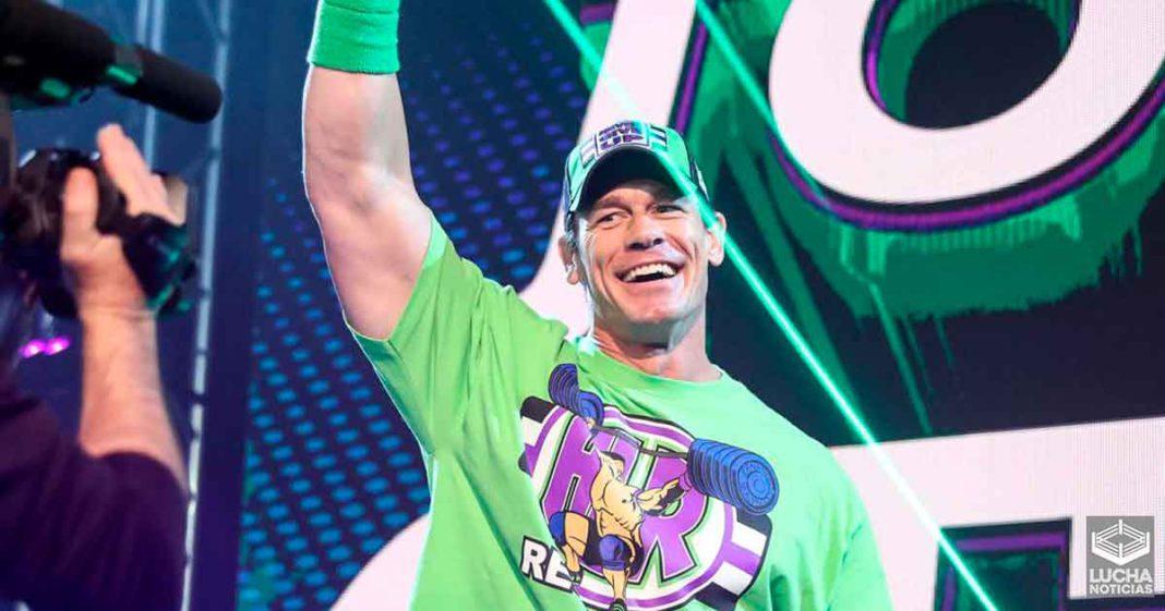 Planes originales para John Cena en WrestleMania 36 revelados