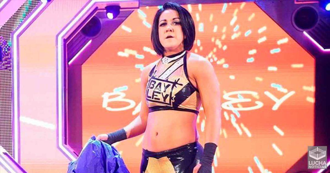 Posible rivalidad para Bayley luego de terminar con Sasha Banks