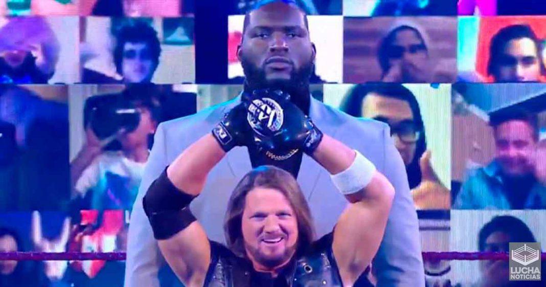¿Quién es el nuevo guardaespaldas de AJ Styles?