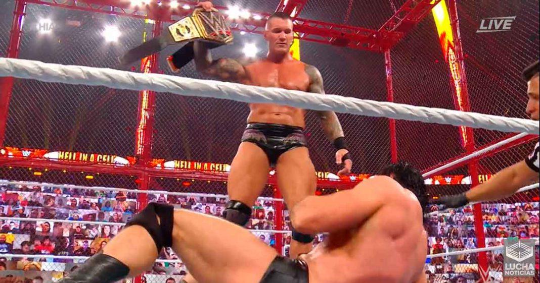 Randy Orton vence a Drew McIntyre en la Celda Infernal y es el nuevo campeón de la WWE