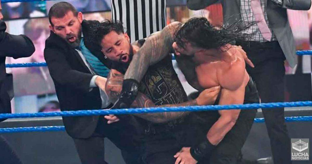 Roman Reigns se siente triste por las acciones de Jey Uso en SmackDown
