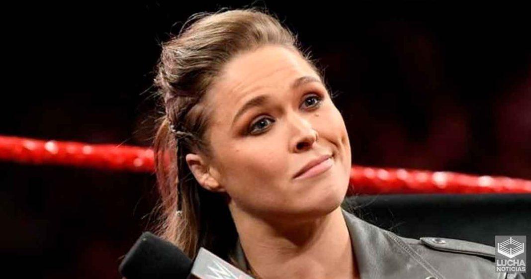 Ronda Rousey firmaría una extensión de contraton con la WWE