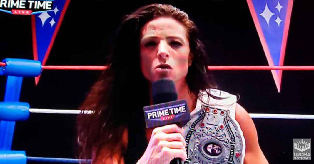 Serena Deeb gana el campeonato femenil de NWA