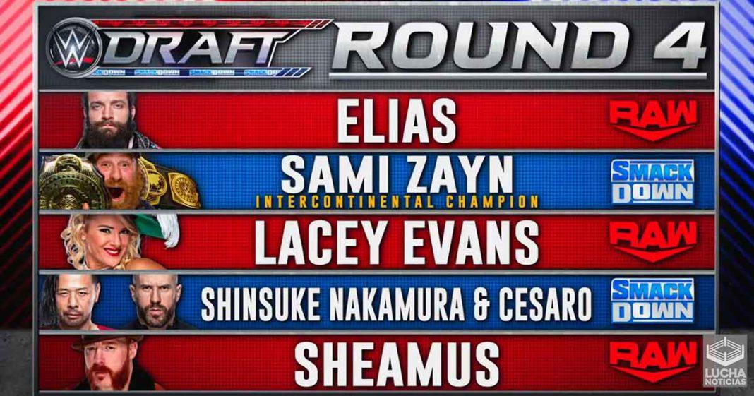 Sheamus es trasladado a WWE RAW - Round 4 del Draft