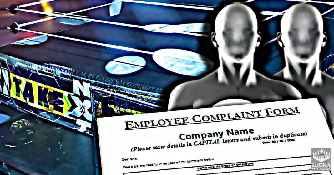Superestrellas de NXT han lanzado quejas formales contra WWE