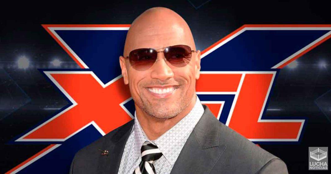 The Rock confirma cuando será el regreso de la XFL