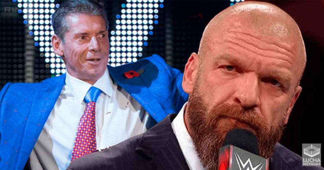 Triple H si conoce la carrera de los luchadores antes de firmar con WWE a diferencia de Vince McMahon