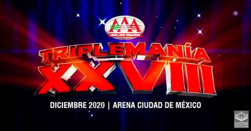 TripleMania XXVIII se realizará en la Arena Ciudad de México en diciembre