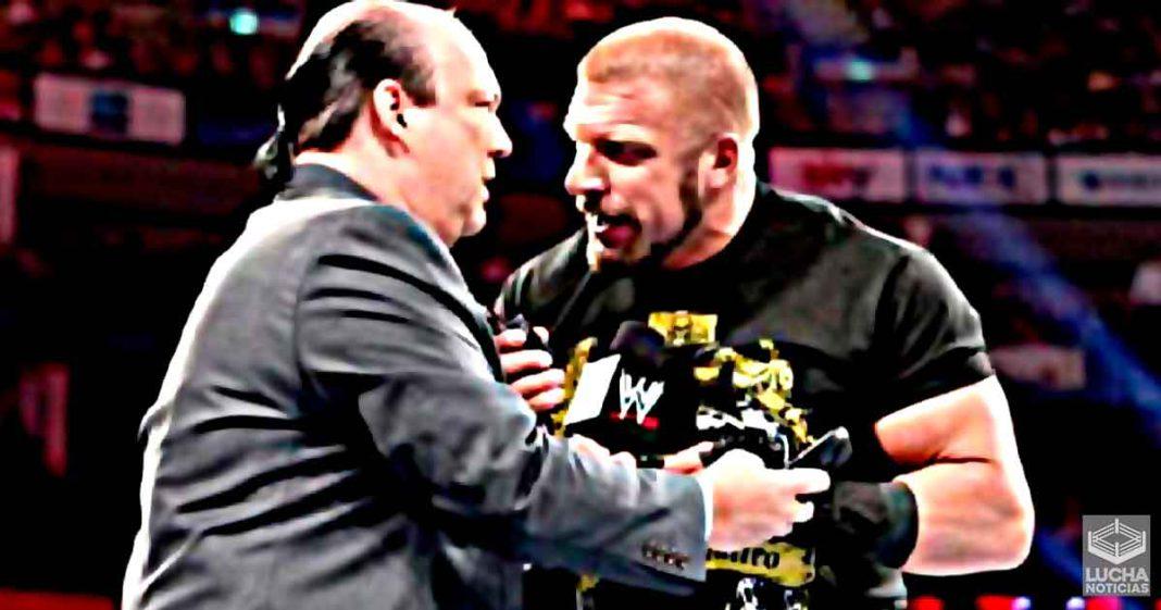 Vince McMahon delegaría la parte creativa en backstage a Triple H y Paul Heyman