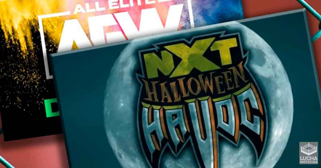 WWE NXT Halloween Havoc vence a AEW Dynamite en ratings
