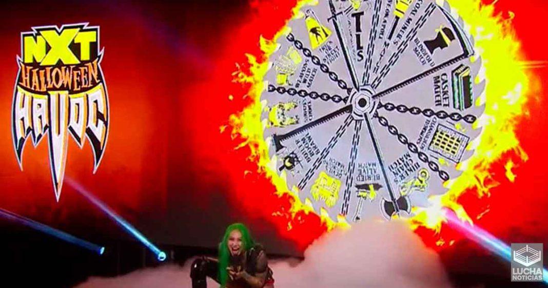 WWE NXT Hallowen Havoc - Horarios y Cartel Completo