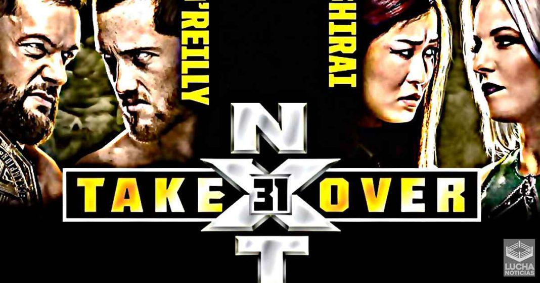 WWE NXT TakeOver: 31, Cobertura y Resultados 04 de octubre