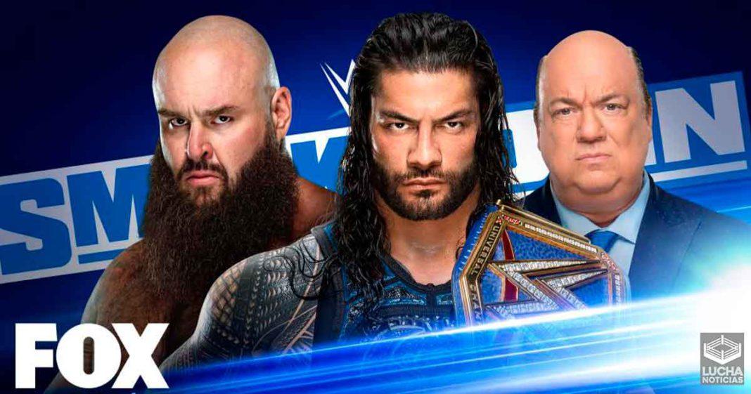 WWE SmackDown en vivo resultados 16 de octubre