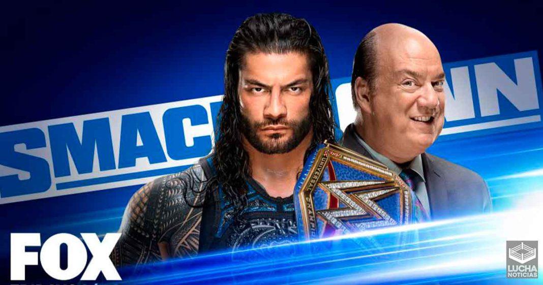 WWE SmackDown en vivo resultados 2 de octubre