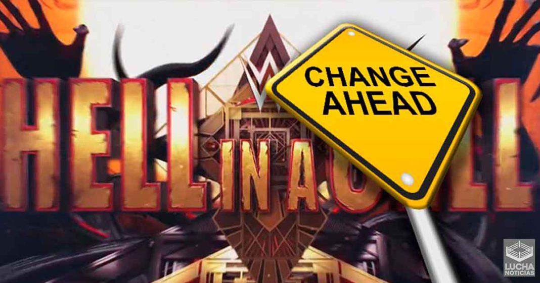 WWE hizo gran cambio al evento estelar de Hell In A Cell