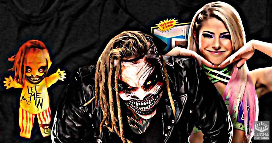 WWE lanza nueva mercancia perturbadora de Bray Wyatt y Alexa Bliss