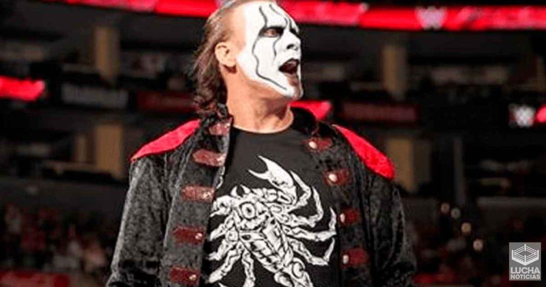WWE retira toda la mercancía de Sting de su tiene oficial