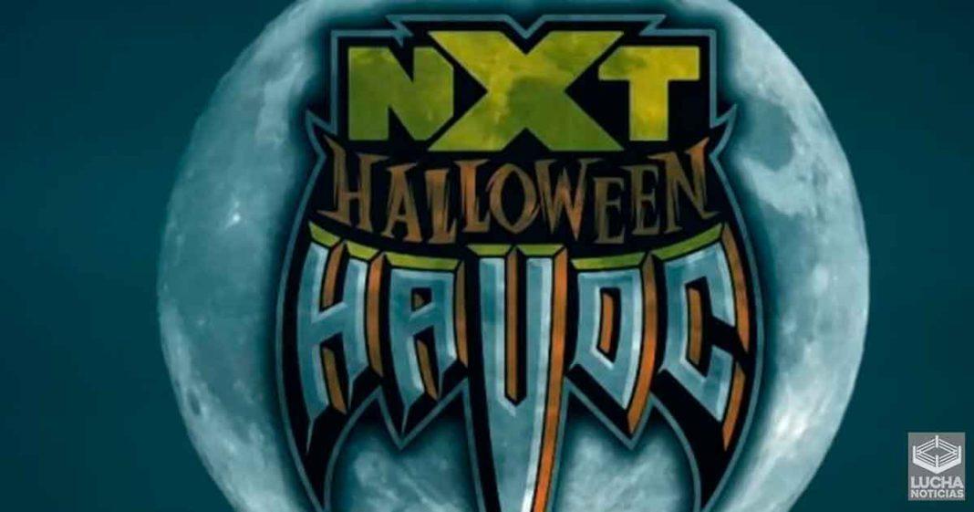 WWE trae de regreso el evento Hallowen Havoc para la marca NXT
