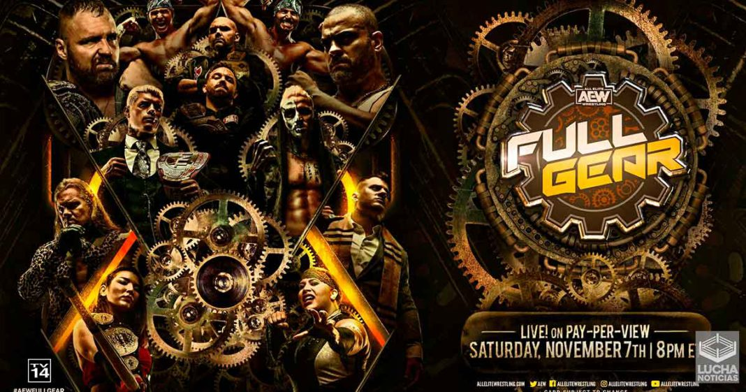 AEW Full Gear en vivo, Cobertura y Resultados 07 de noviembre