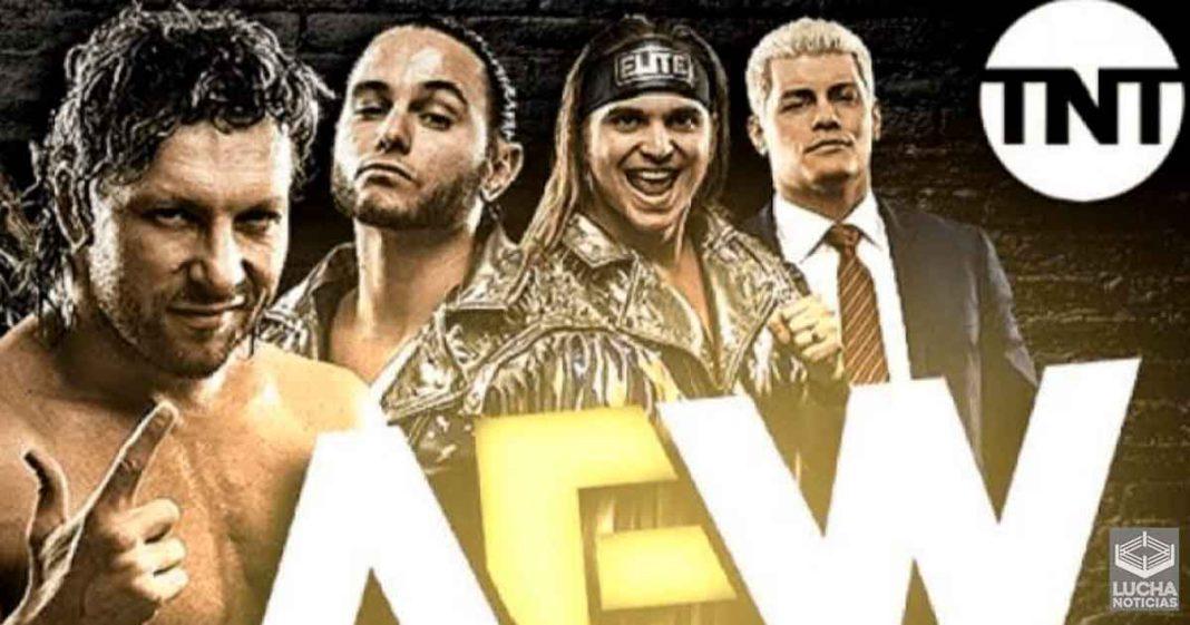 AEW confirma su nuevo programa con duración de una hora en TNT