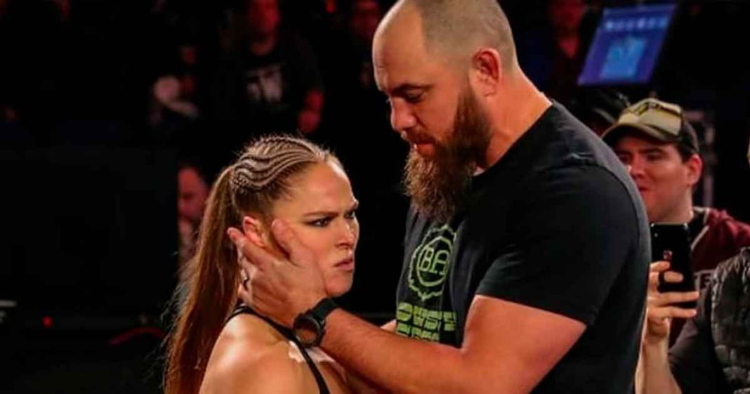 Actualización sobre el entrenamiento de lucha de Ronda Rousey y Travis Brown