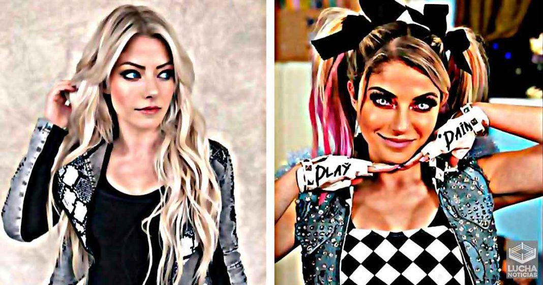Alexa Bliss revela de donde se inspiró su personaje de FireFly Fun House