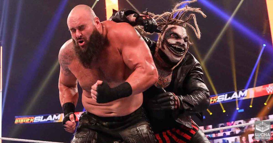 Asi es como ven en el backstage de WWE a Braun Strowman