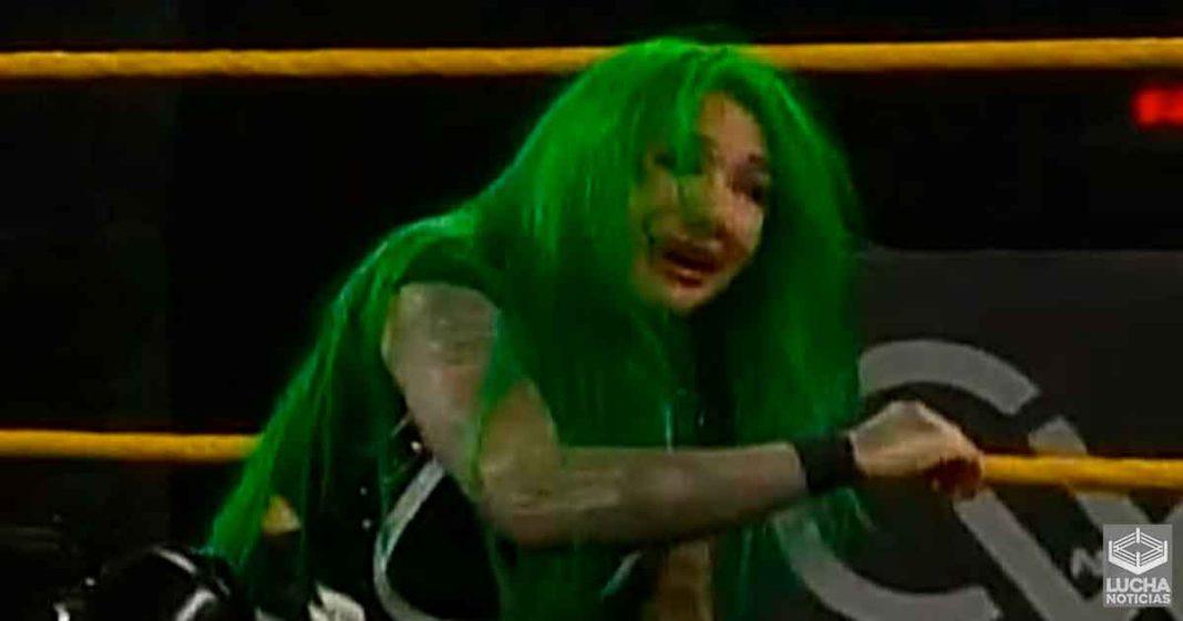 El tanque de Shotzi Blackheart es destruido en WWE NXT
