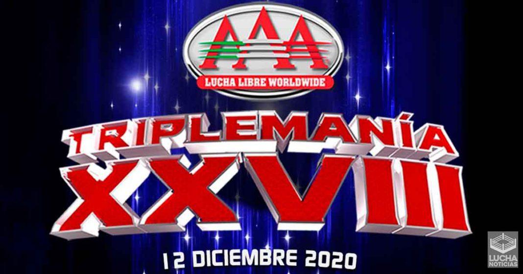 Es oficia: TripleMania XXVIII será el 12 de diciembre