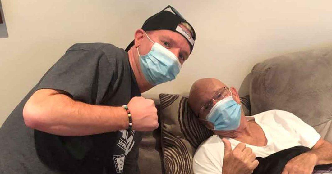 Gillberg se recupera en casa luego de su ataque al corazón