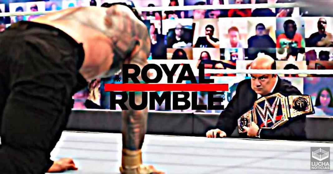 Gran oponente para Roman Reigns en Royal Rumble revelado