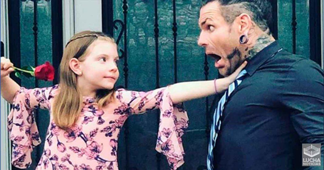 Jeff Hardy quiere que su hija luche en WrestleMania 60