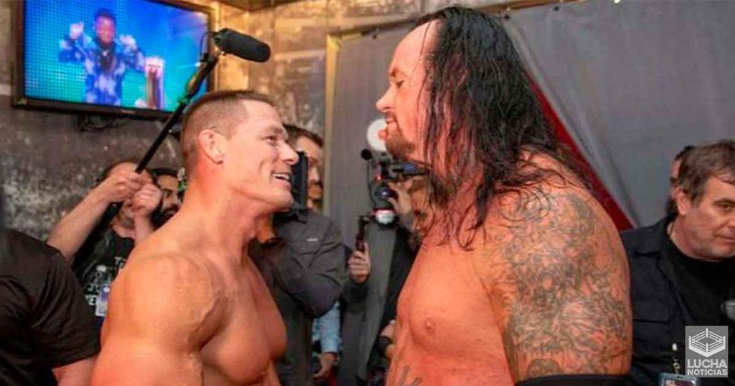 John Cena manda emotivo mensaje a Undertaker
