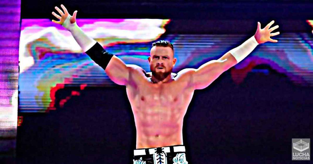 La superestrella de WWE Murphy recuperaría su primer nombre
