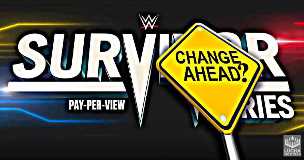 Los planes para WWE Survivor Series cambian drásticamente