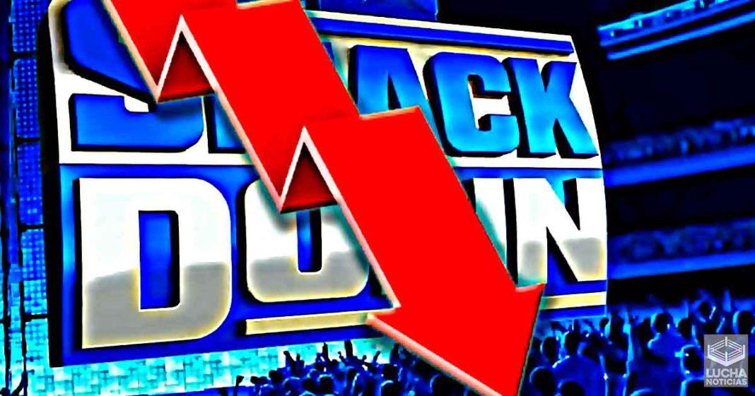 Los ratings de SmackDown bajan un poco esta semana
