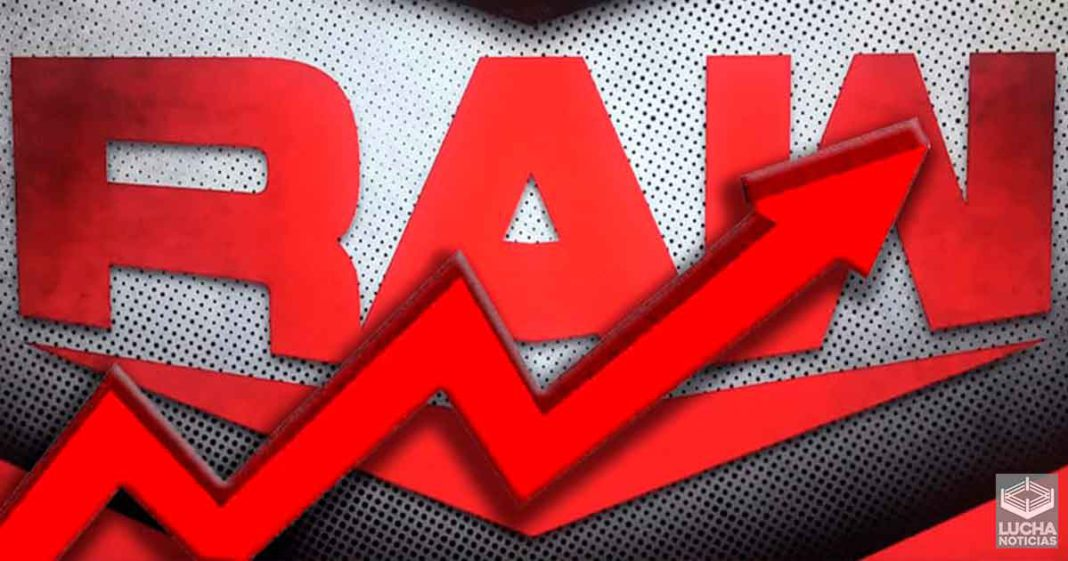 Los ratings de WWE RAW aumentan esta semana