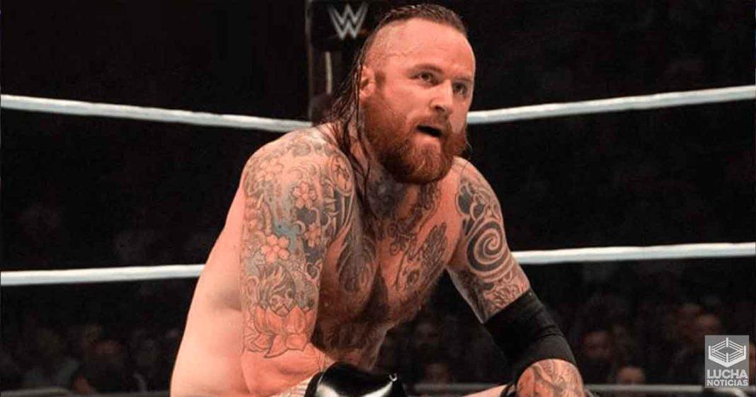Más detalles de Aleister Black solicitando regresar a WWE NXT