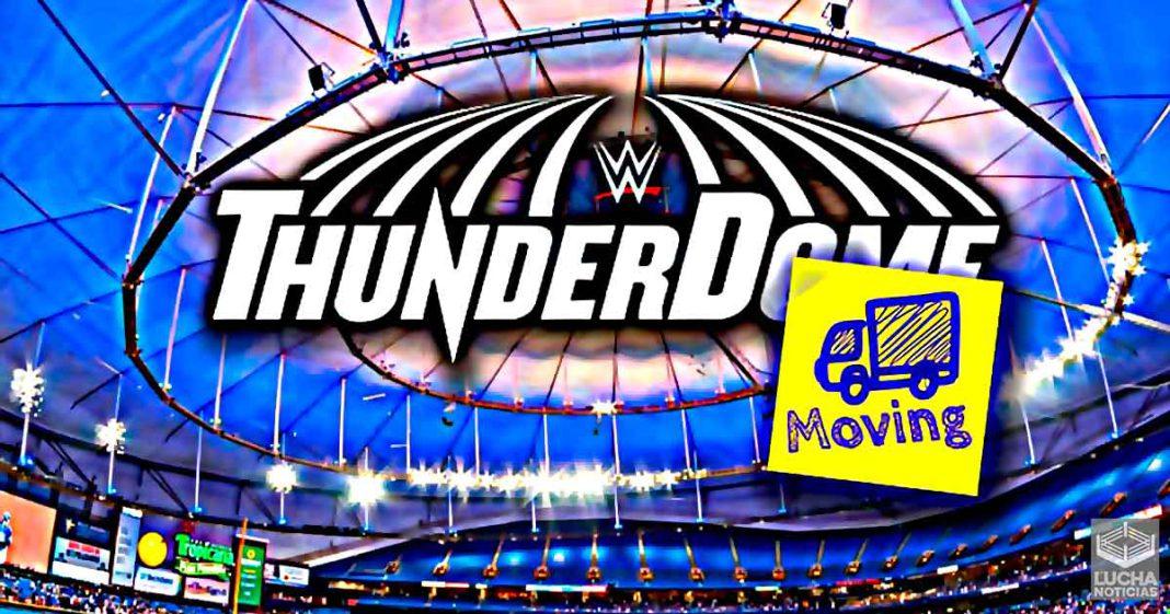 Más detalles de como el ThunderDome se traslada al Tropicana Field