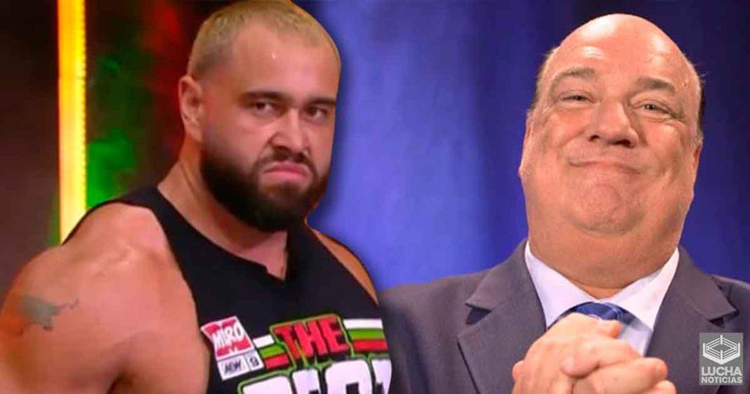 Miro revela que Paul Heyman le prometió estar en el evento estelar de WrestleMania