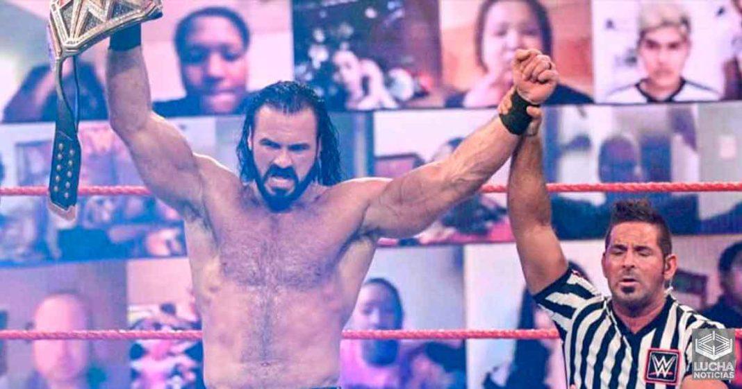 Planes para Drew McIntyre como campeón de la WWE