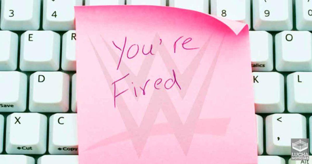 Por esta razón WWE despidió a otra ronda de empleados la semana pasada