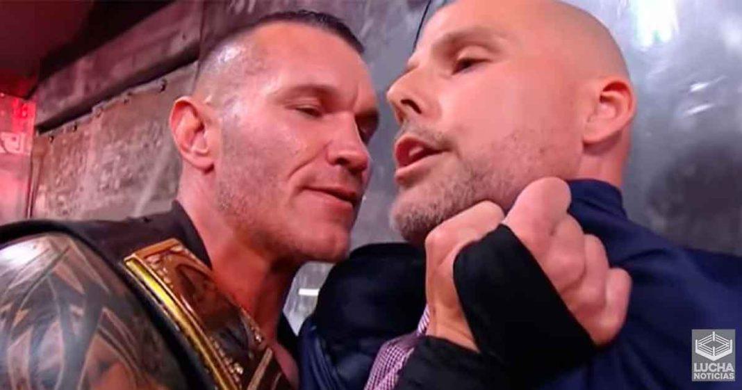 Randy Orton es multado por una cantidad desconocida de dinero por WWE